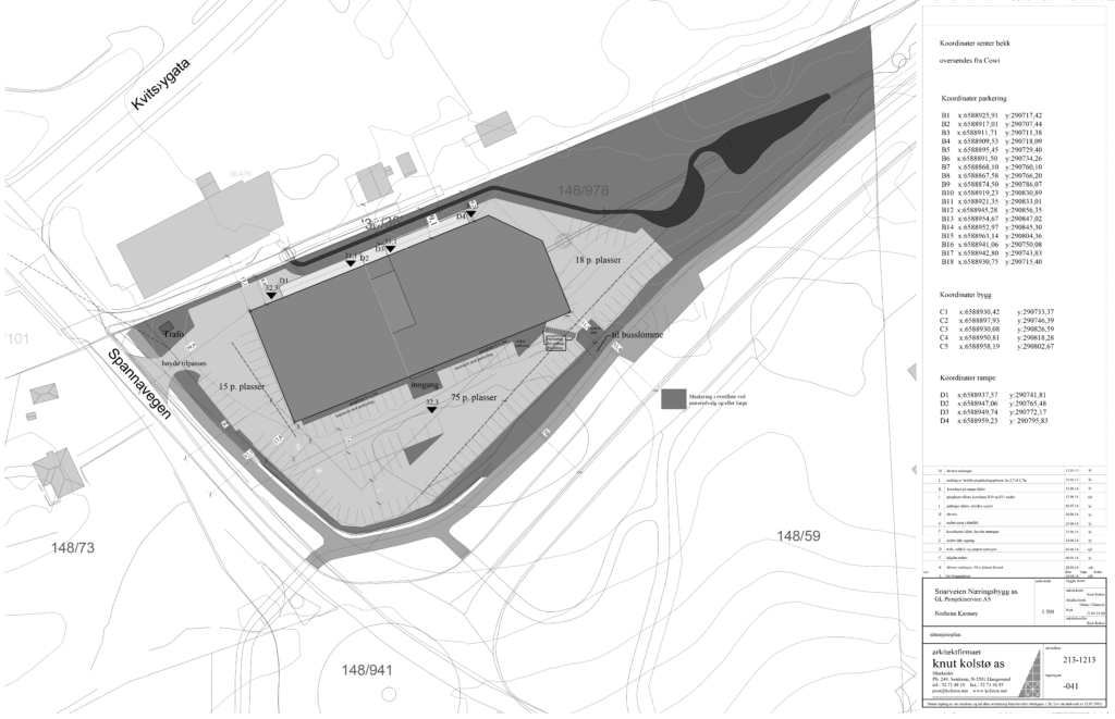 sit. kart Snarveien Næringspark rev M